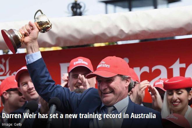 darren-weir-breaks-australian-training-record
